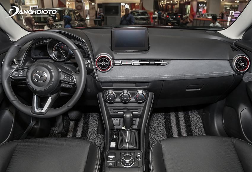 Taplo Mazda CX-3 2021 được tinh giản hoá