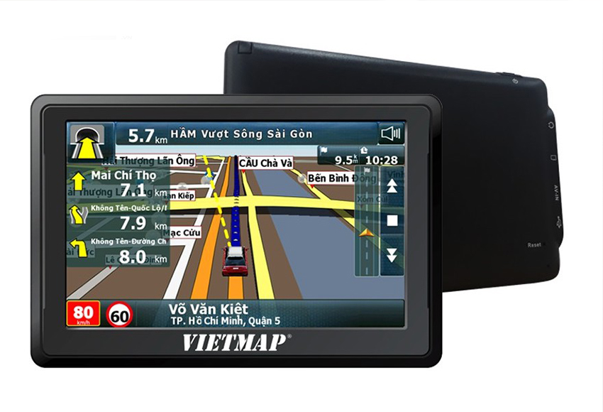 Car navigation equipment is one of the key products that make upVietMap's name