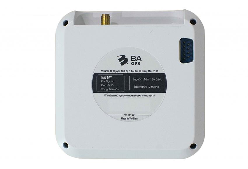 Thiết bị định vị ô tô BA GPS được đánh giá hoạt động ổn định, tích hợp nhiều tính năng đa dạng
