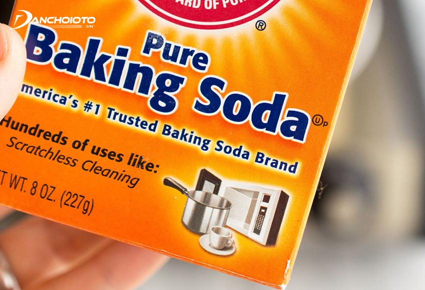 Bột baking soda có khả năng tẩy rửa hiệu quả