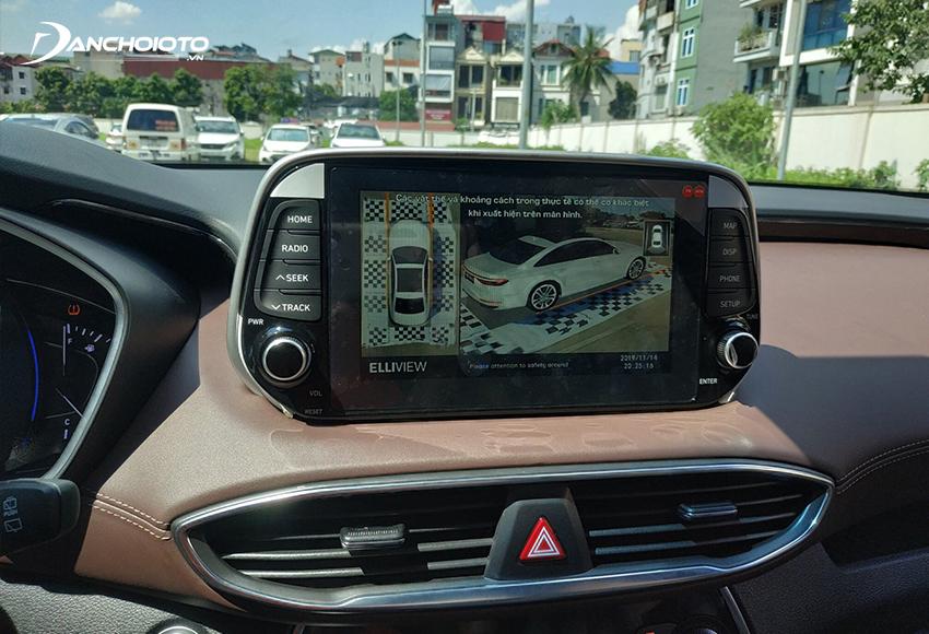 Camera 360 ô tô là một bộ thiết bị camera giúp cung cấp hình ảnh toàn diện 360 độ quanh xe