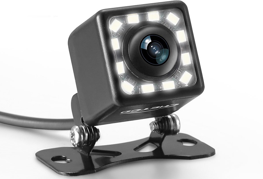 Camera lùi hồng ngoại cho hình ảnh sáng rõ hơn vào ban đêm