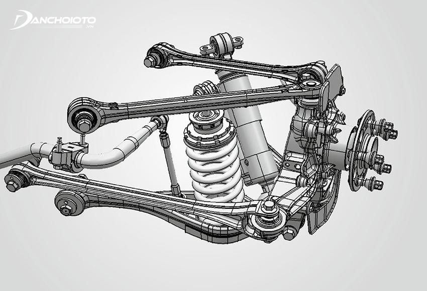 Cấu tạo hệ thống treo ô tô