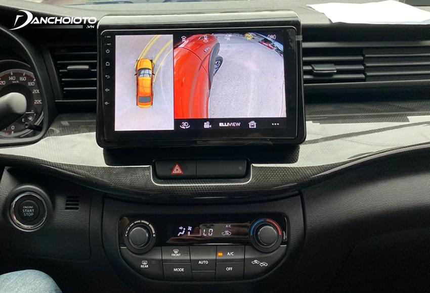 Giá camera 360 ô tô Elliview từ 11 – 21 triệu đồng
