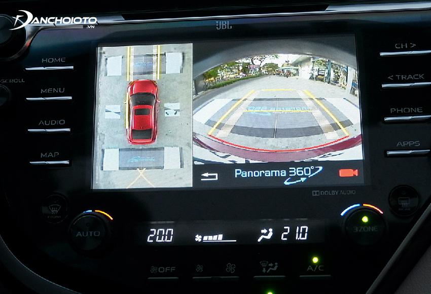 Giá Camera 360 ô tô Panorama từ 14 triệu đồng