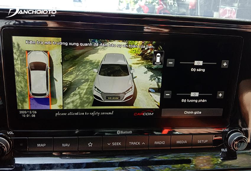 Giá camera 360 ô tô Wanna View từ 12 triệu đồng