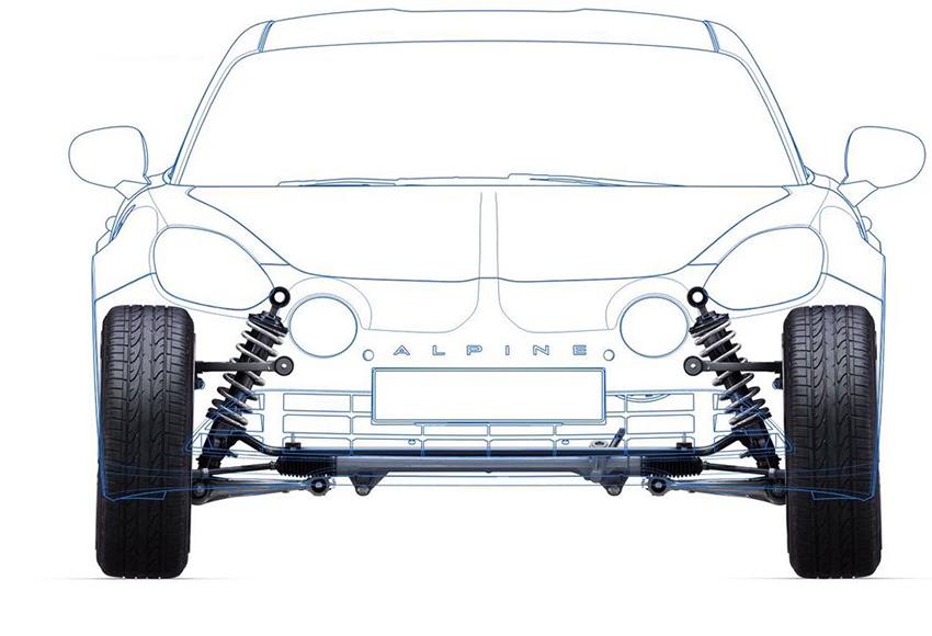 Hệ thống treo ô tô giúp xe vận hành một cách ổn định và êm ái nhất