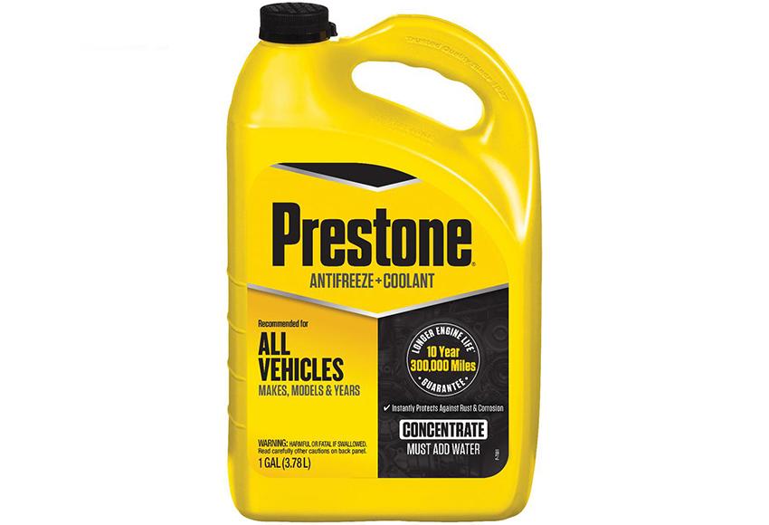 Nước làm mát Prestone được nhiều hãng xe lớn sử dụng, có ưu điểm tuổi thọ sử dụng lâu dài