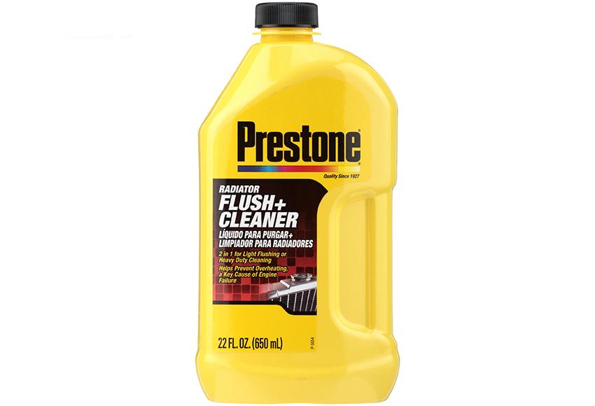 Prestone Radiator Flush Plus Cleaner