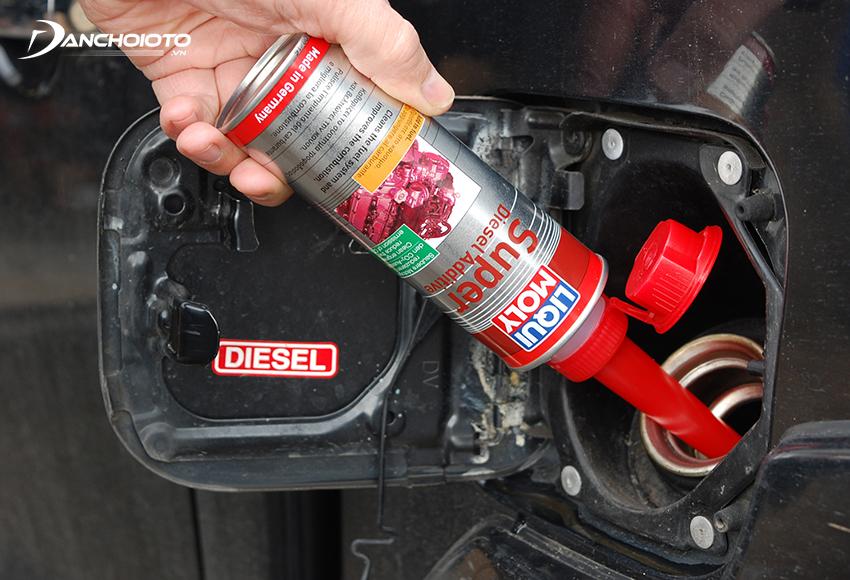Tác dụng phụ gia xăng, phụ gia dầu Diesel là vệ sinh hệ thống kim phun, piston, buồng đốt…