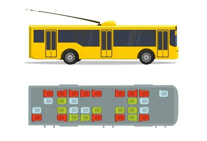 Với xe khách, xe buýt lớn, vị trí nguy hiểm nhất là hàng ghế chạy dọc cửa sổ bên phía ghế lái