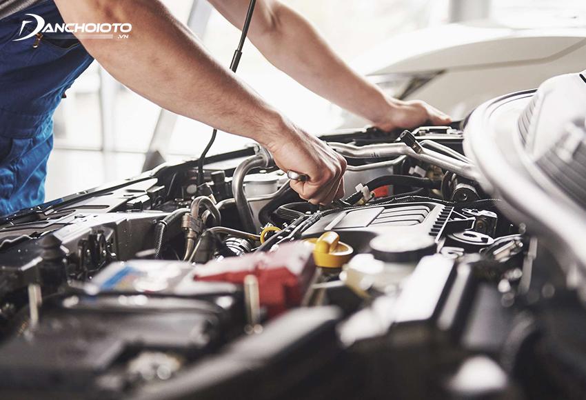 Xe ô tô bị bỏ máy động cơ sẽ ồn hơn bình thường