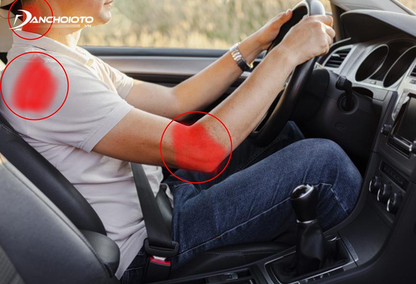 Đau lưng là một trong các bệnh nghề nghiệp của tài xế thường gặp