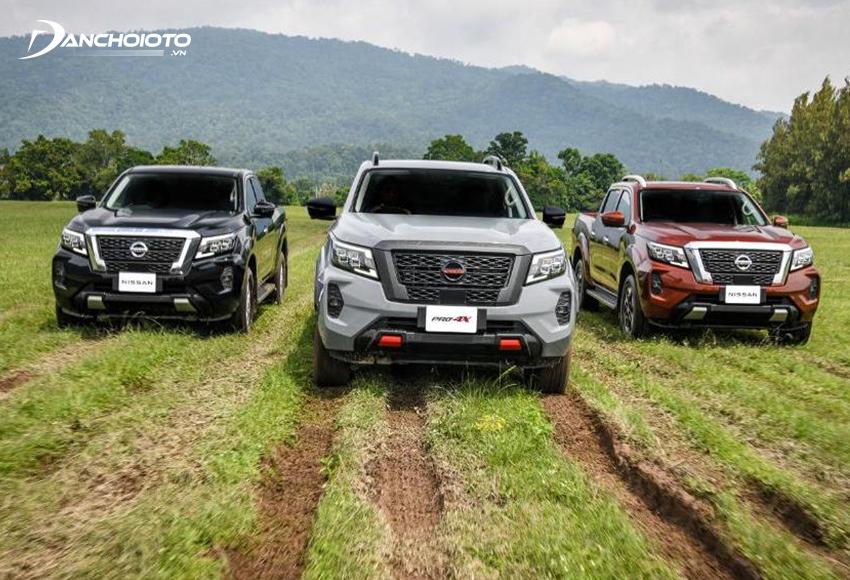 Nissan Navara 2021 có phiên 1 bản tiêu chuẩn, 2 bản cao cấp và bản Pro4X