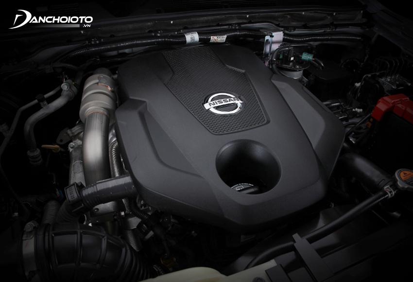 Nissan Navara 2021 vẫn sử dụng khối động cơ dầu Turbo 2.5L