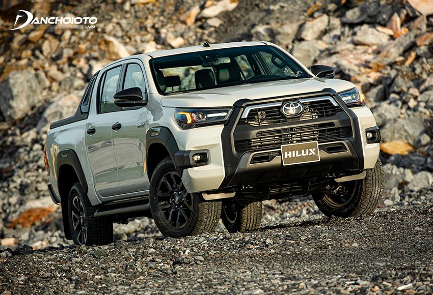 """Toyota Hilux đã được """"đô thị hoá"""" trở nên hiện đại hơnToyota Hilux đã được """"đô thị hoá"""" trở nên hiện đại hơn"""