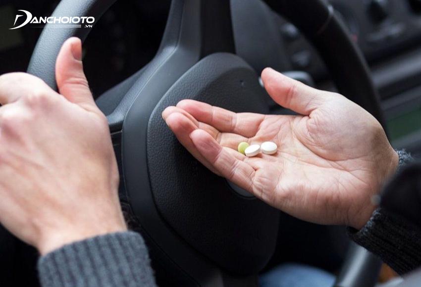 Trước khi sử dụng thuốc chống buồn ngủ khi lái xe cần tham khảo ý kiến bác sĩ