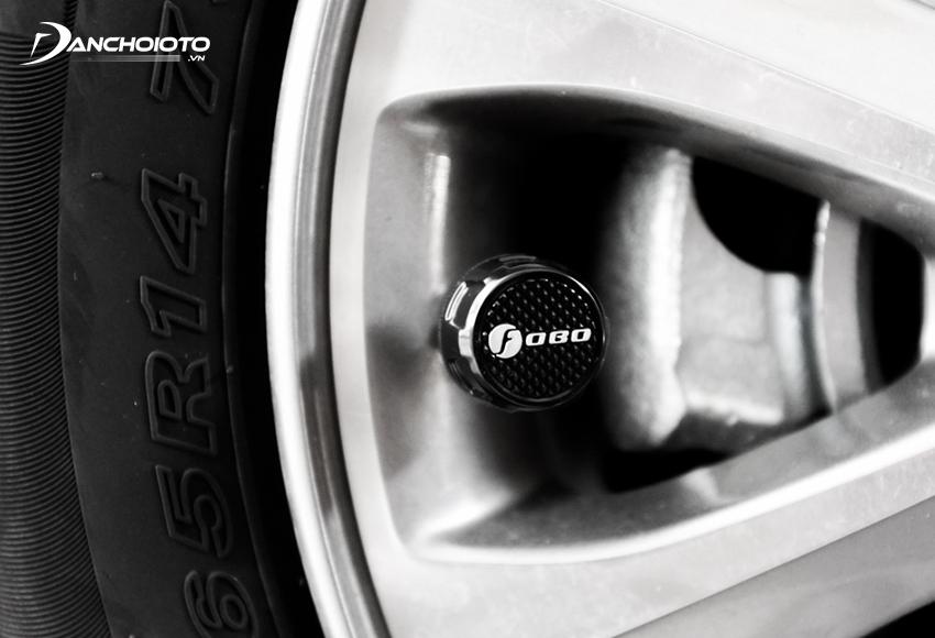 Van cảm biến áp suất lốp có chức năng đo áp suất lốp xe