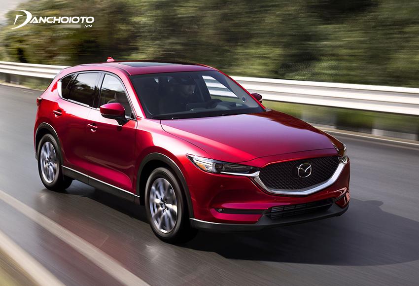 Với Mazda CX5 bản 2.5L, xe vận hành mạnh mẽ, lái bốc