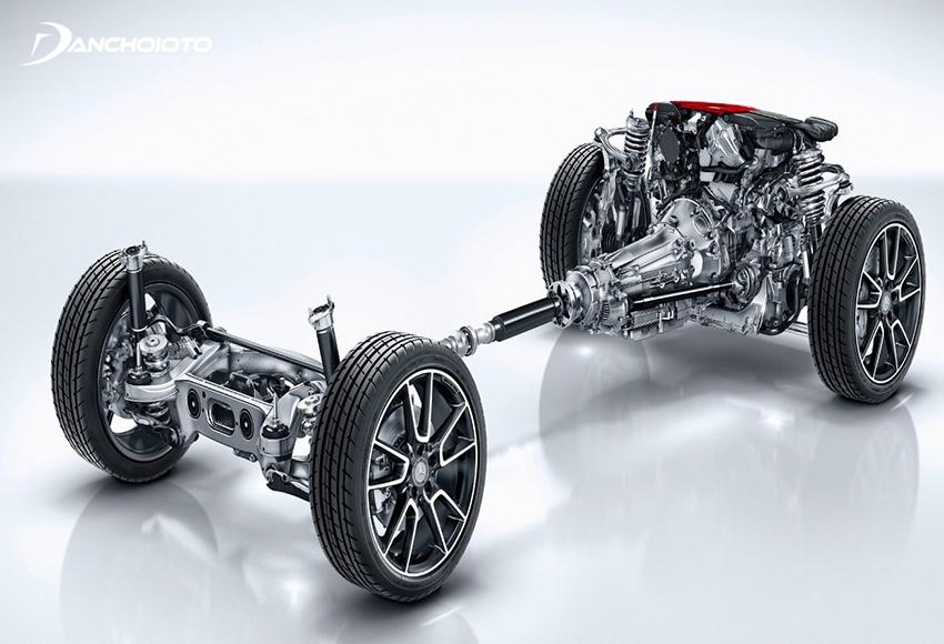 4Matic là một hệ thống dẫn động bốn bánh toàn thời gian AWD do hãng xe Mercedes-Benz phát triển