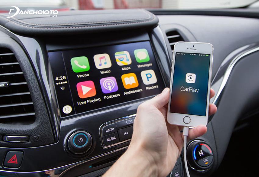 Apple CarPlay có mặt trong các mẫu điện thoại từ iPhone 5 trở lên