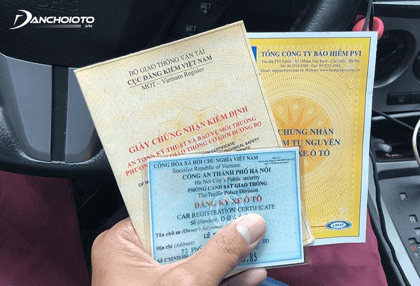 Cần chuẩn bị đầy đủ hồ sơ trước khi đưa xe đi đăng kiểm
