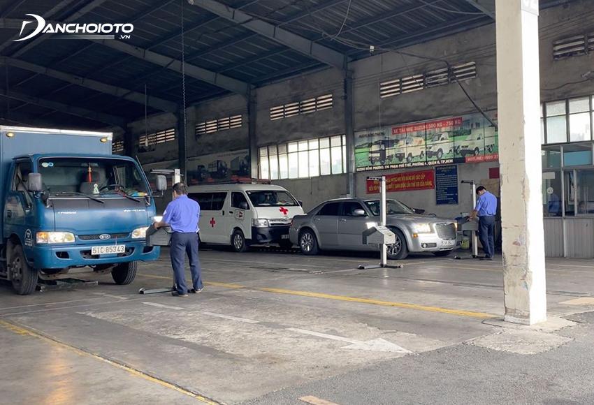 Chủ phương tiện có thể nộp phí đường bộ tại các đơn vị đăng kiểm khi đưa xe đi đăng kiểm