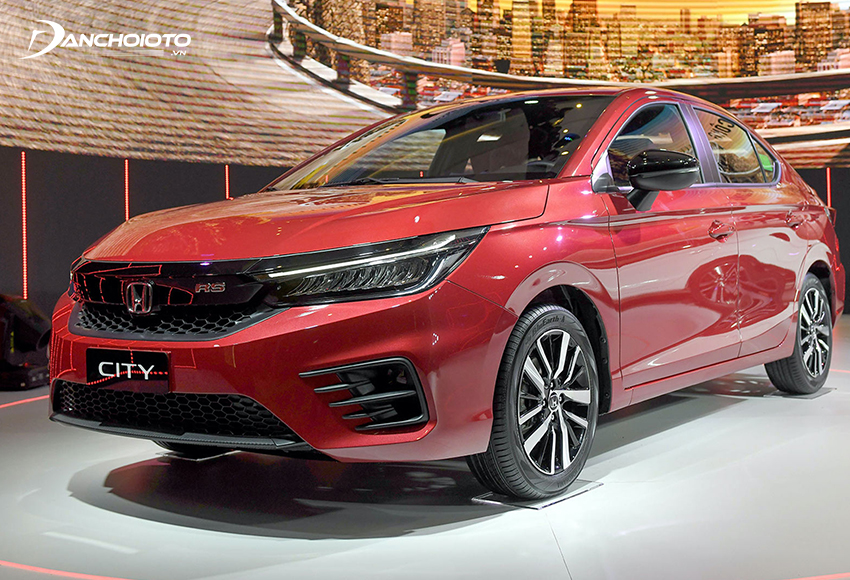 Honda City được đánh giá là một trong các lựa chọn tốt nhất khi mua xe ô tô khoảng 500 triệu đồng