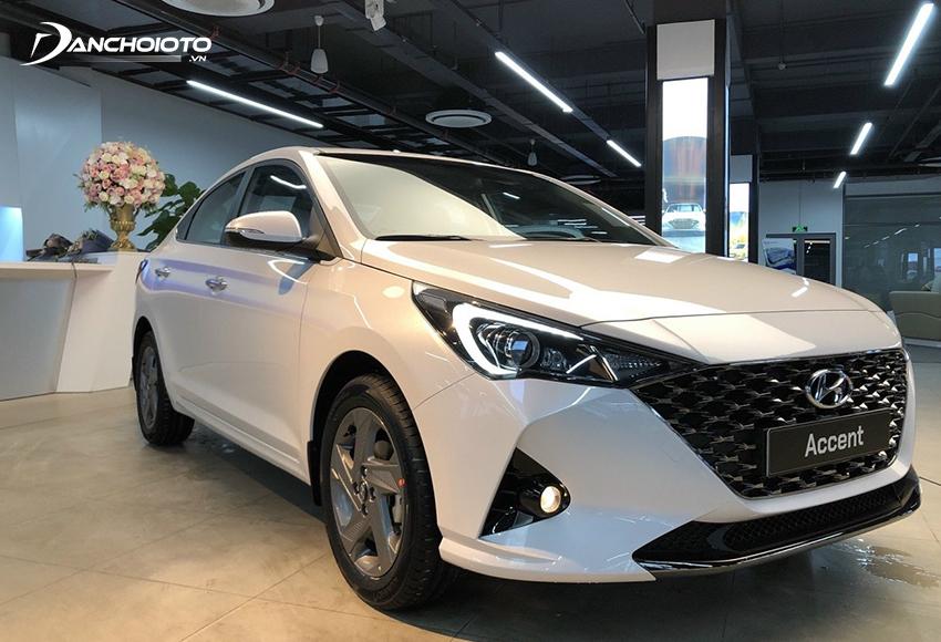 Hyundai Accent là một mẫu xe có giá hấp dẫn trong các loại xe 400 triệu hiện nay
