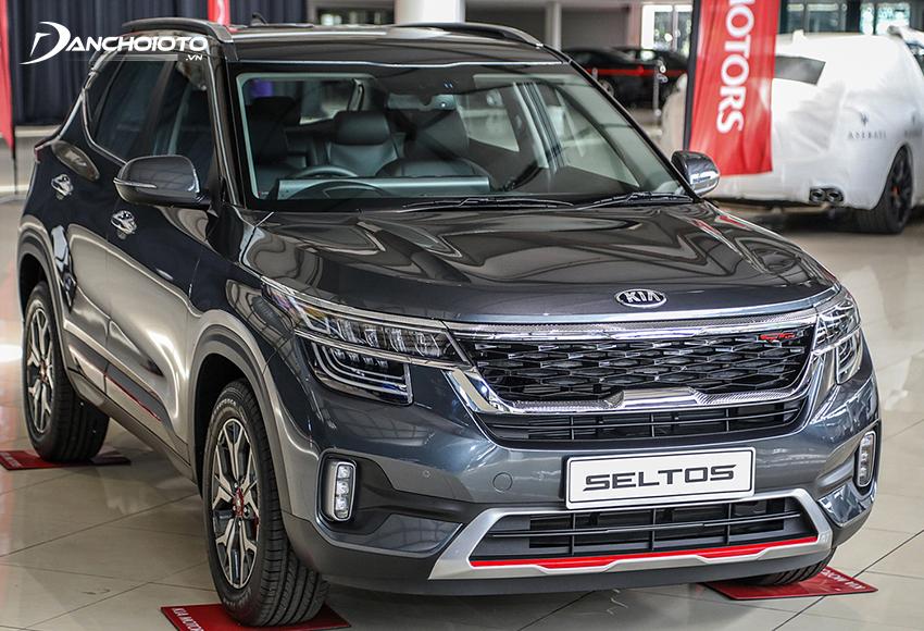 Kia Seltos hiện là một trong các dòng xe 5 chỗ gầm cao 600 triệu đáng mua nhất