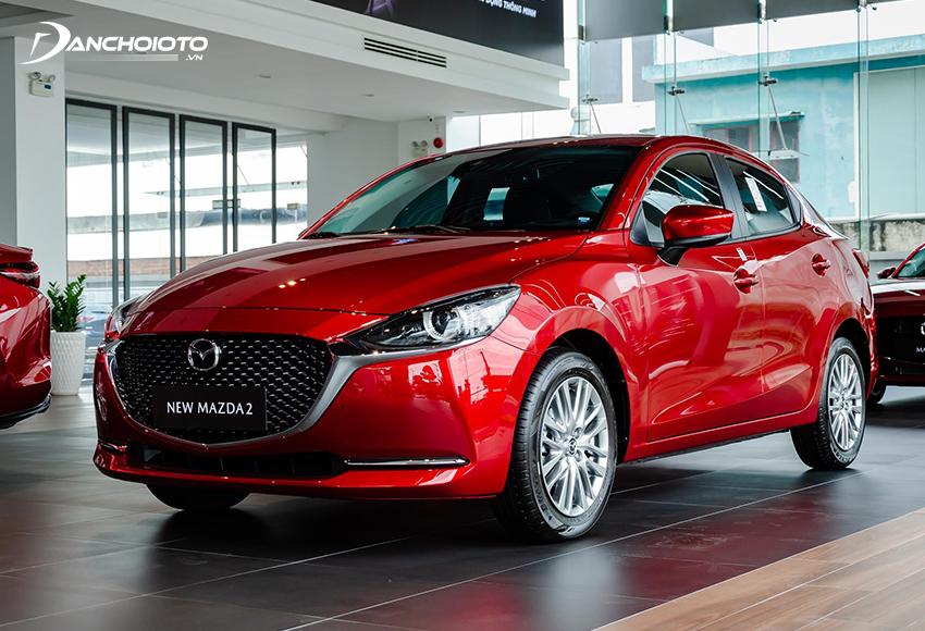 Mazda 2 là cái tên đầu tiên phải kể đến nếu tư vấn 500 triệu đồng mua xe nào đẹp, tiện nghi, sang trọng