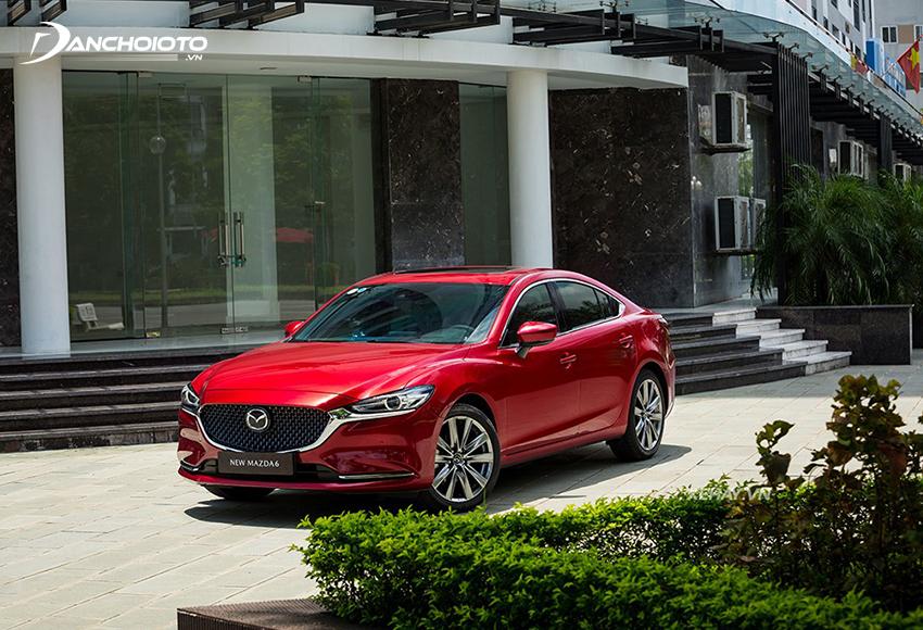 Mazda 6 là một trong các mẫu xe sedan hạng D được ưa chuộng nhất hiện nay