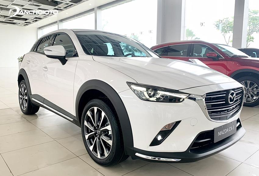 Mazda CX-3 là một cái tên khó thể bỏ qua khi tư vấn mua xe 600 triệu đồng