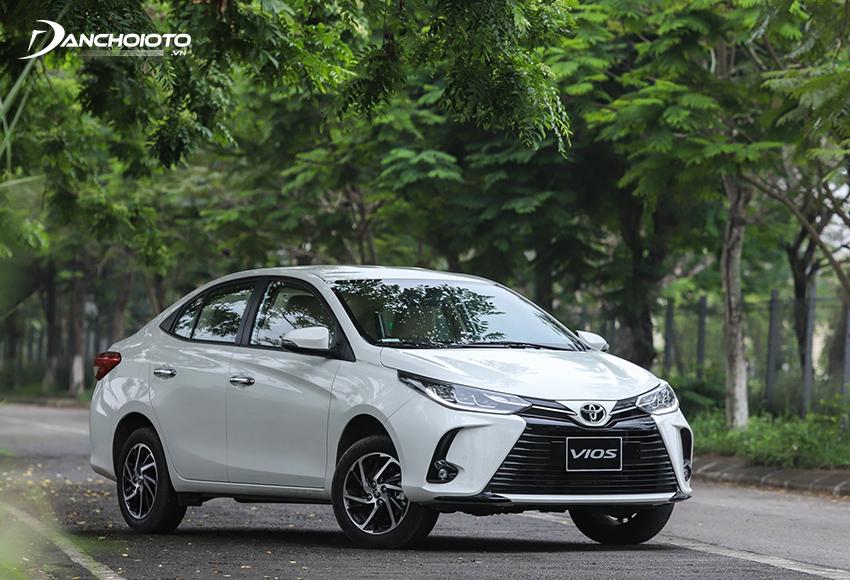 Nếu đang tìm mua xe khoảng 400 triệu đồng thì Toyota Vios cũng rất đáng tham khảo