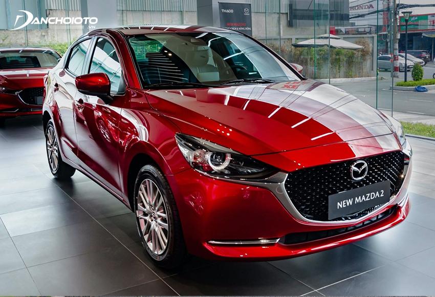 Nếu hỏi 400 triệu nên mua xe mới nào đẹp thì Mazda 2 là cái tên chắc chắn không thể bỏ qua