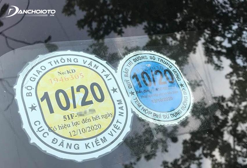 Nếu xe kiểm định đạt yêu cầu, đơn vị đăng kiểm cấp Giấy chứng nhận kiểm định và dán Tem kiểm định cho xe
