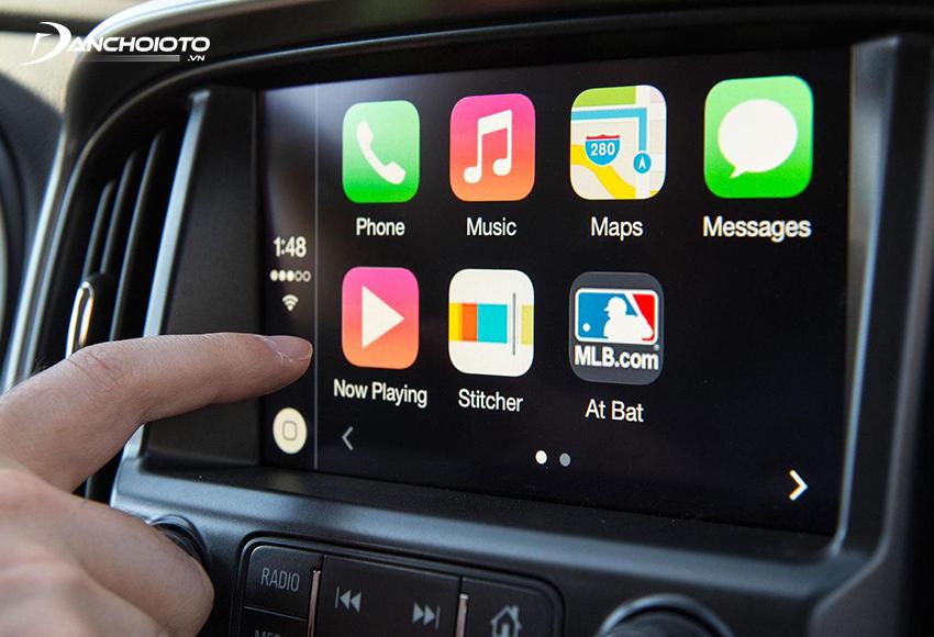 Phần lớn các xe ô tô hiện nay đều được hỗ trợ sẵn chức năng Apple CarPlay