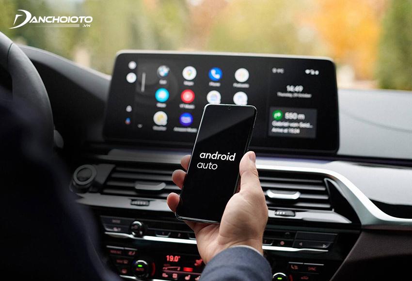Phần lớn các xe ô tô hiện nay đều hỗ trợ Android Auto