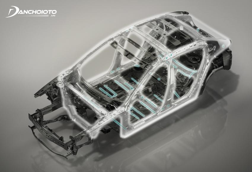 Skyactiv-Body là công nghệ phát triển thân xe mới của Mazda