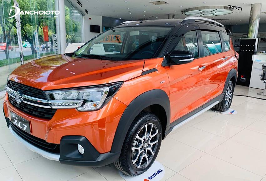 Suzuki XL7 là mẫu xe hợp với những ai đang tìm mua oto 7 chỗ khoảng 500 triệu vận hành cứng cáp, ổn định