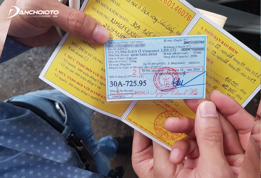 Thời gian làm lại giấy tờ xe bị mất không quá 30 ngày kể từ ngày nhận đủ hồ sơ hợp lệ