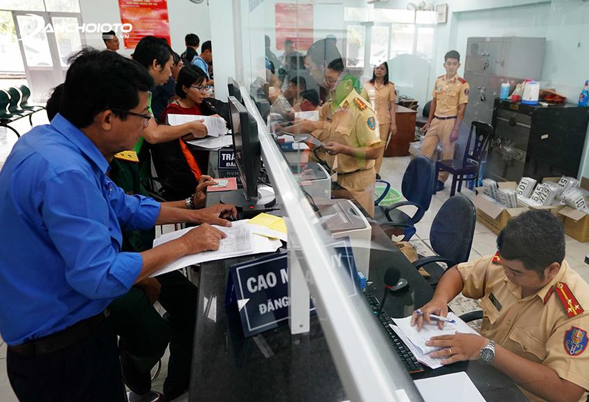 Thủ tục đăng ký xe ô tô được tiến hành tại Phòng Cảnh sát giao thông Công an cấp tỉnh hoặc thành phố trực thuộc trung ương
