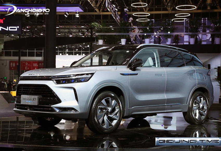 BAIC là một trong 10 nhà sản xuất ô tô Trung Quốc có năng suất cao nhất