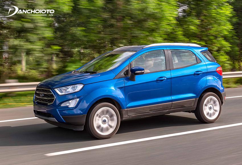 Ford EcoSport là mẫu xe ô tô 5 chỗ gầm cao tiết kiệm nhiên liệu nhất hiện nay