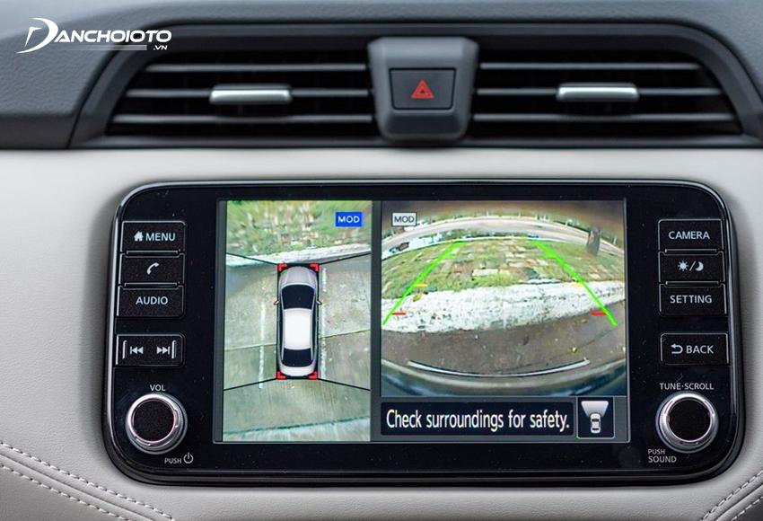 Hệ thống an toàn Nissan Almera 2021 được đánh giá vượt trội hơn so với các đối thủ cùng phân khúc