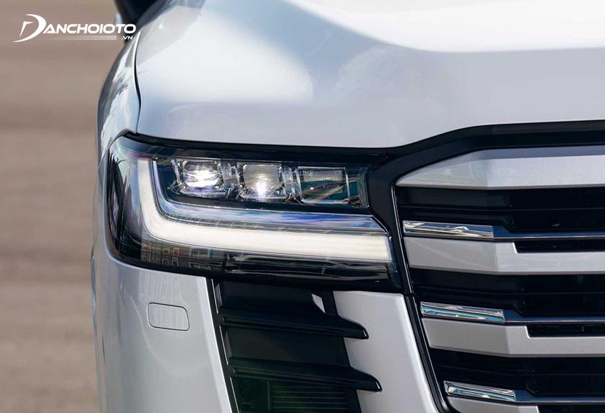 Hệ thống đèn Land Cruiser đặc biệt bắt mắt với công nghệ LED hiện đại hàng đầu