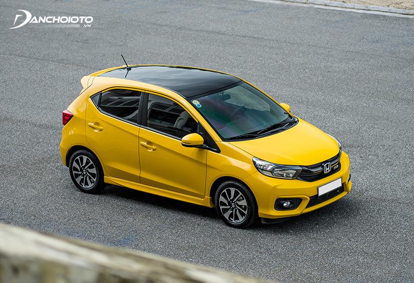 Honda Brio là một cái tên không thể bỏ qua khi nói về những mẫu ô tô giá rẻ tiết kiệm xăng nhất
