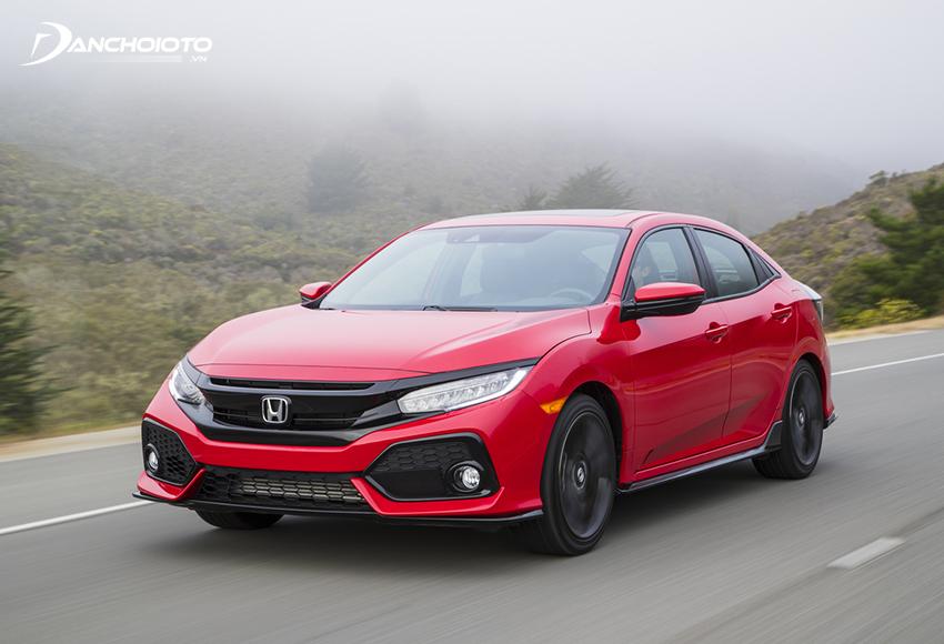 Honda Civic là một trong những chiếc ô tô tiết kiệm xăng nhất phân khúc sedan hạng C