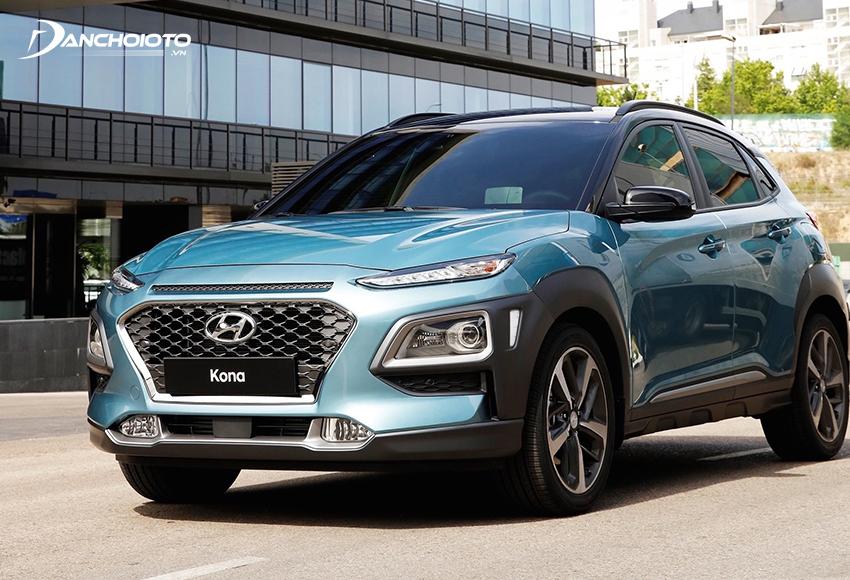 Hyundai Kona cũng là một gương mặt không thể thiếu khi nói về những xe SUV 5 chỗ tiết kiệm nhiên liệu nhất