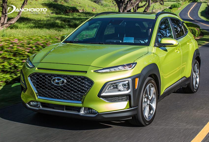 Hyundai Kona được đánh giá là mẫu xe ô tô phù hợp cho gia đình nhỏ